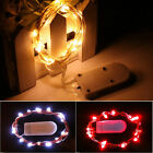 10-40LED Christmas Xmas Party Copper Strings Fairy Lights CR2032 Battery Powered
