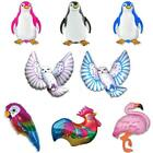 "3 x 26"" Wholesale Penguins, Owls & Birds Shaped Foil Balloons - U Choose Design"
