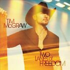 TIM MCGRAW TWO LANES OF FREEDOM CD COMPACT DISC NEW SEALED SALE COUNTRY MUSIC
