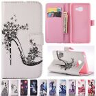 Flip Cards Stand Wallet Leather Diamond Pattern Case Cover For Samsung Galaxy