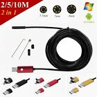 5.5mm 7mm 8mm Android Phone PC Endoscope IP67 Waterproof Borescope HD LED Camera