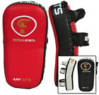 Flare Thai Arm Pad UFC Strike Shield Focus MMA Muay Curve KickBoxing Punch Bags