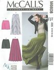 McCall's 6608 Misses' Skirts   Sewing Pattern