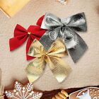 Bow Christmas Tree Decoration Hanging Ornament Bowknot Party Gift Home Decor