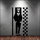 LARGE SKA SPECIALS LIFESIZE  6FT 180cm WALL ART STICKER DECAL CUT MATT VINYL