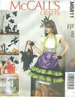 McCall's 6811 Halloween Apron and Decorations   Sewing Pattern