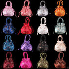 """New Fashion Women's Chinese Embroidered """"Floral"""" Silk Purse Jewelry Bag Handbag"""