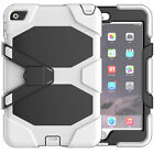 """Waterproof"" Case For iPad Mini 4 Shockproof Heavy Duty Stand and screen cover"