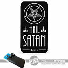 UNIVERSAL FIT Printed Phone Case Cover : HAIL SATAN (Various) Pentagram Devil