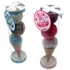Baby Shower Gift Gripper Socks in Pink or Blue Ice Cream Scoop Gift Pack.
