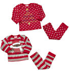 Baby Toddler Jingle Bells Let it Snow Robin Xmas Novelty Pyjamas 6 to 24 Months