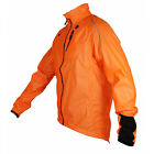 Children's Waterproof Cycling Jacket. Kid's Jacket. Polaris Aqualite Orange