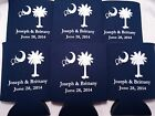 Wedding Koozies Personalized Design 1246 25 to 300 custom can party favors
