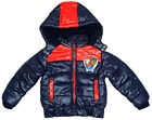 Boys Official Paw Patrol Marshall Chase Padded Hooded Winter Coat 3 to 8 Years
