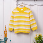 Bebini Baby Kid 9-36M Infant Unisex Sweater Cardigan 100% Cotton Printed Yellow