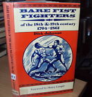 BARE FIRST FIGHTERS OF THE 18th & 19th CENTURY by D JOHNSON - 1st HB DJ