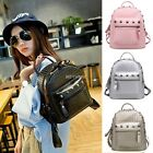 Women Backpack Rucksack PU Leather Shoulder Bag Travel School Satchel K0E1