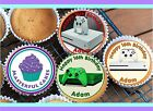 24 PERSONALISED XBOX ONE S CUPCAKE TOPPER RICE, WAFER or ICING