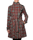 Smash Barcelona S-XXL UK 10-18 RRP ?105 MONETON Coat Black Red Check