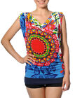 Smash Barcelona S-XXL UK 10-18 RRP ?38 White & Bright Iracema Vest Top