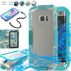 Waterproof Shockproof Cover Case For Samsung Galaxy S6 S6 edge+ plus/Note 5