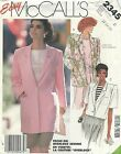 McCall's 2345 Misses' Jacket 12, 14, 16   Sewing Pattern