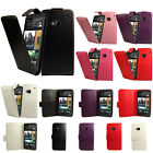 Flip Pu Leather Flip Case Wallet Cover For The HTC Desire / One Series