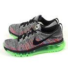Nike Wmns Flyknit Max White/Black-Ghost Green Cushioned Running Shoes 620659-103