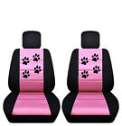 Paw Print Seat Covers 2016 Nissan Maxima Side Airbag Friendly