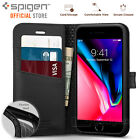 [FREE EXPRESS] iPhone 7 Case, Genuine SPIGEN WALLET S Stand Flip Cover for Apple