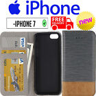 iPhone 7 Cross-Shaped Flip Case Cover Protective Holder Card Slots Wallet Mobile