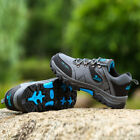 GOMNEAR men big size hiking shoes waterproof shock absorb non slip outdoor shoes