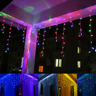 3.5m LED Curtain String Light Xmas Christmas Festival Fairy Wedding Party Stage