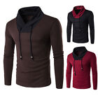 Hot Men's Casual Slim Fit Knit Cardigan Pullover Jumper Sweater Knitwear 3 Color
