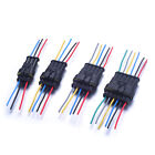 3/4/5/6 Pin Waterproof HID Xenon Socket Wire Harness Power Cable Cord Connector