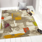 Rugs Multi-Color Area Rug Modern Abstract Shapes Floor Decor Large Carpet