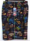 NWT Men's Speedo Swim Trunks Shorts Elastic Band M XL Multi Floral Striped