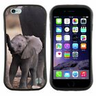 Anti-Shock Tpu Case Bumper Cover For Apple iPhone cute baby elephant