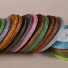 """New 25 Yards 1/4 """" 6mm Beautiful Glitter Ribbons Bling for Bows and decorated"""