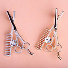 Vogue Lovely Suit Scissors Comb Brooch Pins For Women Men Party Jewelry Gifts
