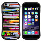 Anti-Shock Tpu Case Bumper Cover For Apple iPhone saltwater Colorful fishing lur