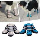4Pcs Pet Puppy Shoes Small Large Dog Waterproof Winter Warm Rain Booties Boots