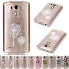 Popular Hot Soft TPU Silicone Shockproof Clear Pattern Cover Case For LG G3