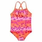 Angel Beach Girls Swimsuit Leopard Ruffle One Piece Toddler sizes 2T 3T 4T NEW