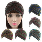 Women Stretchable Indian Style Turban Shiny Hat Head Wrap Headwrap Hijab Cap