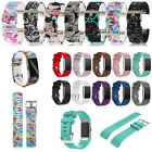 Replacement Soft Silicone Wrist Strap Bracelet For Fitbit Charge 2 Watch Band