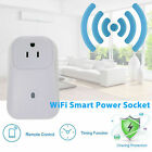 Remote Control Home WiFi Smart Power Socket Wireless Timer Switch Outlet US Plug фото