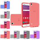 WHOLESALE 5X LOT For LG Tribute HD LS676 X Style Transparent TPU Cover Case