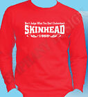 Skinhead T-Shirt Don't Judge What You Don't Understand Oi Ska Long Sleeve 1969