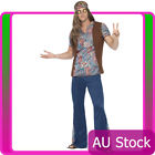 Mens Orion The Hippie 60s 70s Costume Adult 1960s 1970s Groovy Hippy Outfits